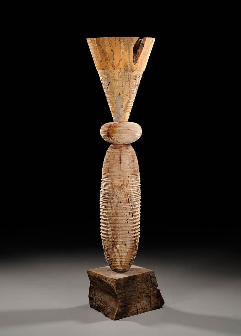 Mark lindquist totemic series sculptures