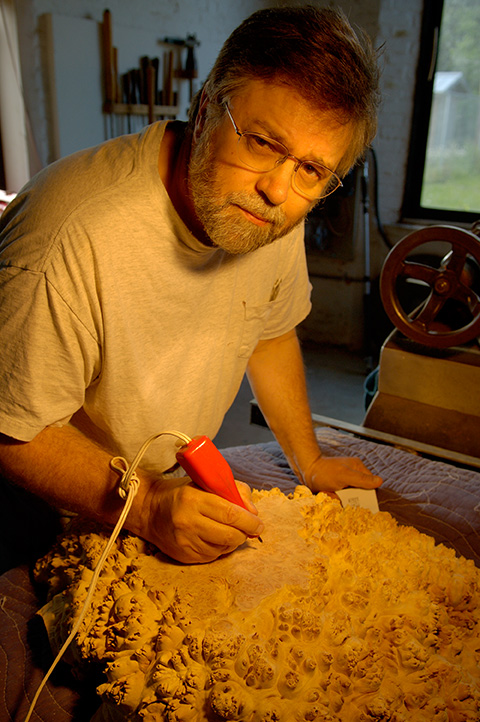 ABOUT MARK LINDQUIST - ARTIST - WOOD SCULPTURES AND ART WORKS